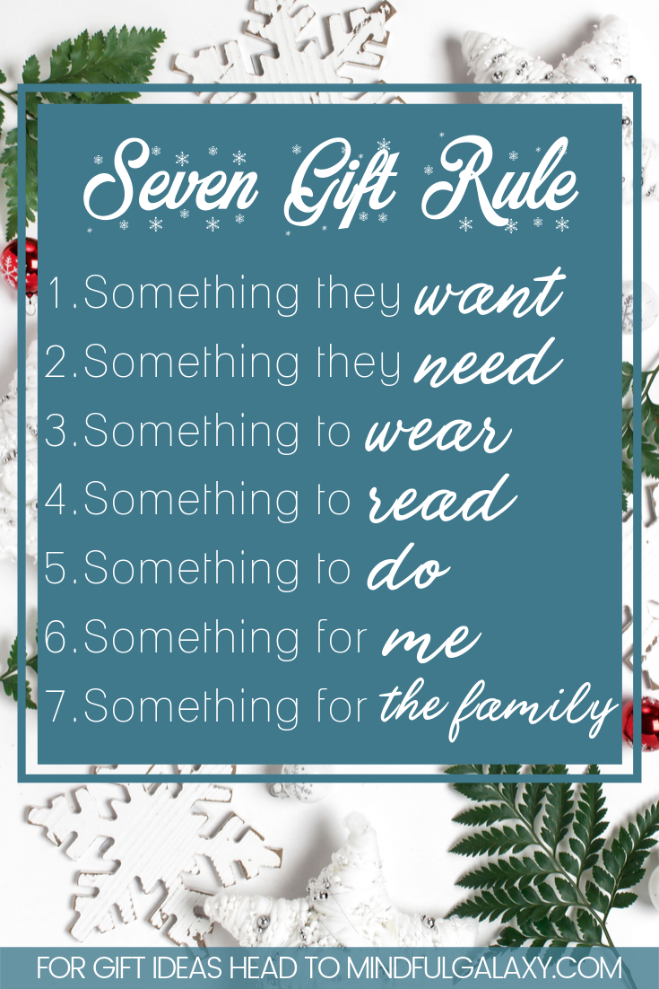 The 7 Gift Rule For Christmas In 2020 Christmas Gifts For Kids Christmas Presents For Kids Buy Christmas Gifts