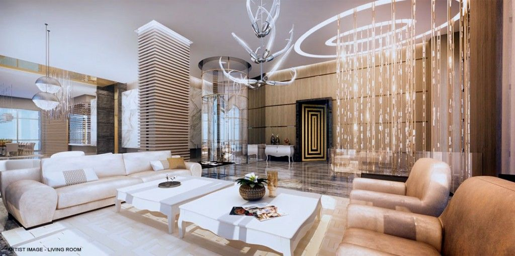 Big Mansion Living Rooms | The Mansions At Acqualina Nabs First Big  Construction Loan In Miami