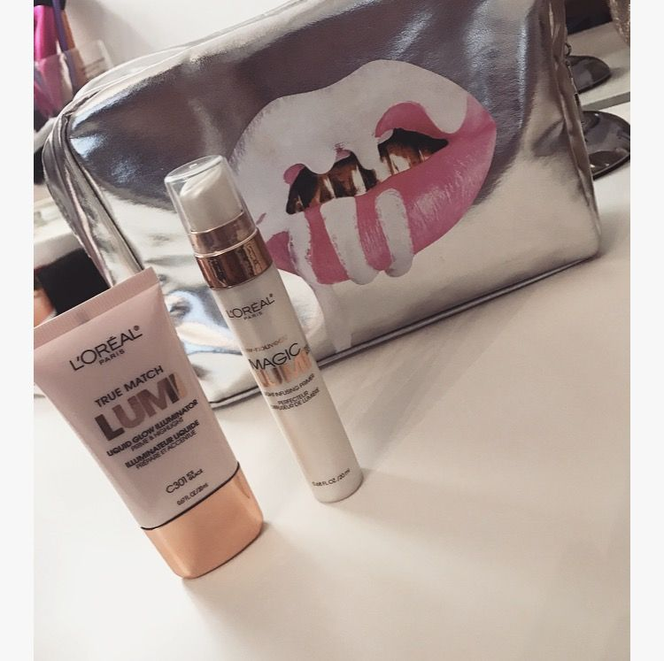 L'Oréal lumi light infusing primer and illuminated duo for a dewy and glowing complexion