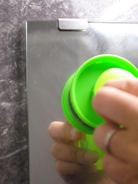 ほぼ放置 浴室鏡の簡単ウロコ防止法 2か月経過 おのぼり主婦の
