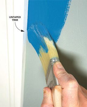 How To Paint A Room Painting Tips Room Paint Diy Painting