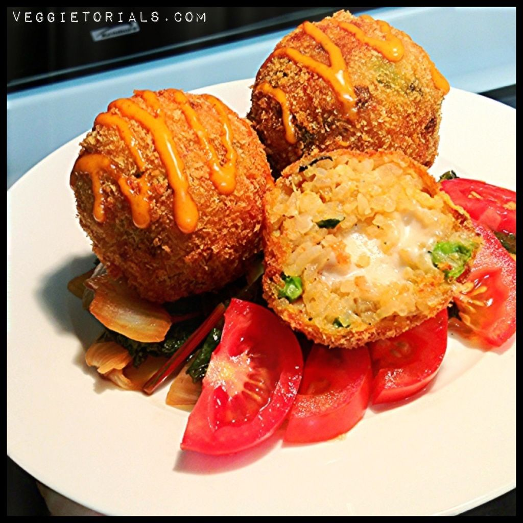 Kimchi Fried Rice Balls, inspired by Seoul Sausage on The Great Food ...