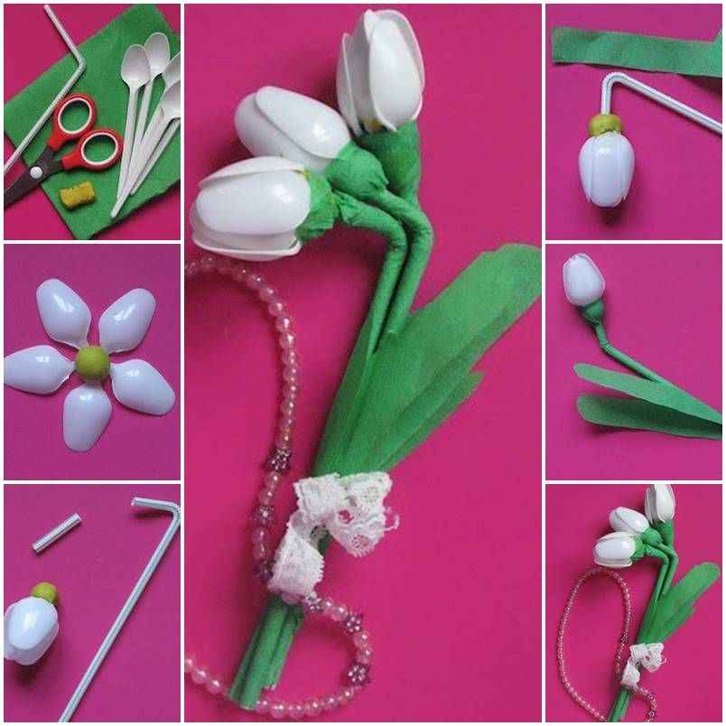 Handmade flowers with plastic spoons plastic spoons spoon and diy handmade flowers with plastic spoons spoon flowerpretty flowersmake flowersdiy projectsproject solutioingenieria Choice Image