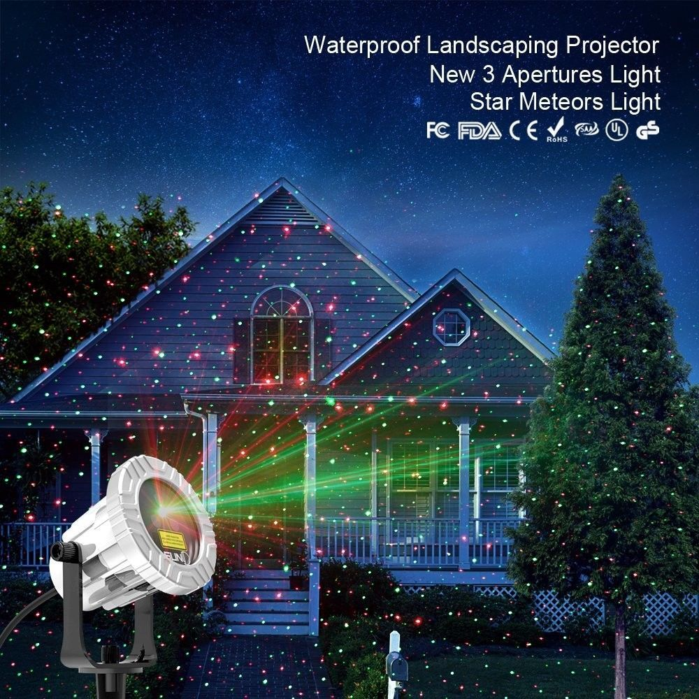 outdoor moving projector laser led garden christmas light stage light waterproof