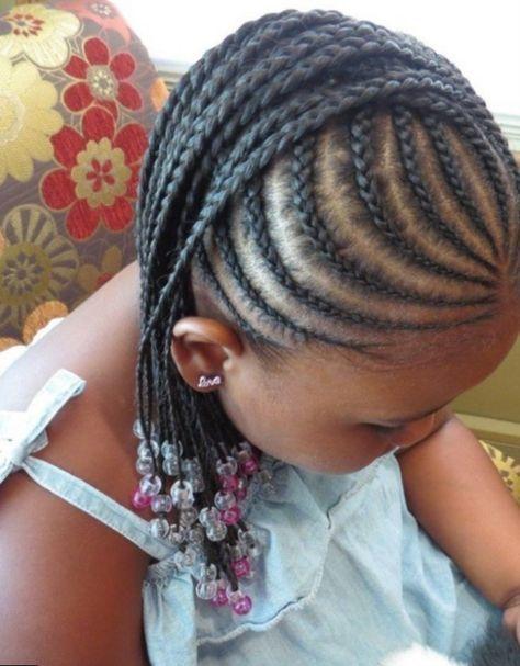 Photo Coiffure Tresse Africaine Petite Fille Tresse Petite Fille Coiffure Enfant Tresses Africaines