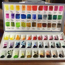 My Customised Frazer Price Palette Box Pochade Box Palette