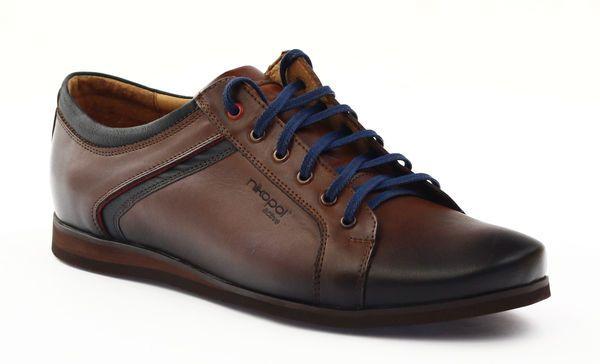Polbuty Meskie Sportowe Nikopol 1580 Braz Brazowe Dress Shoes Men Oxford Shoes Tuxedo Shoes