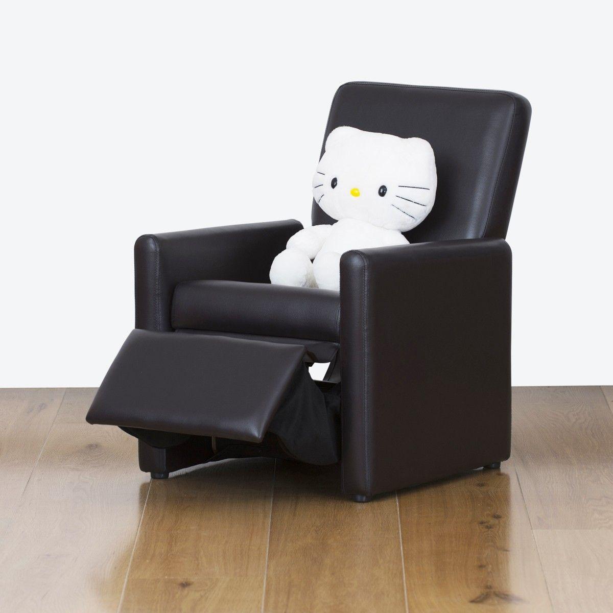 Watoto Kids Recliner Chair   Jet Black