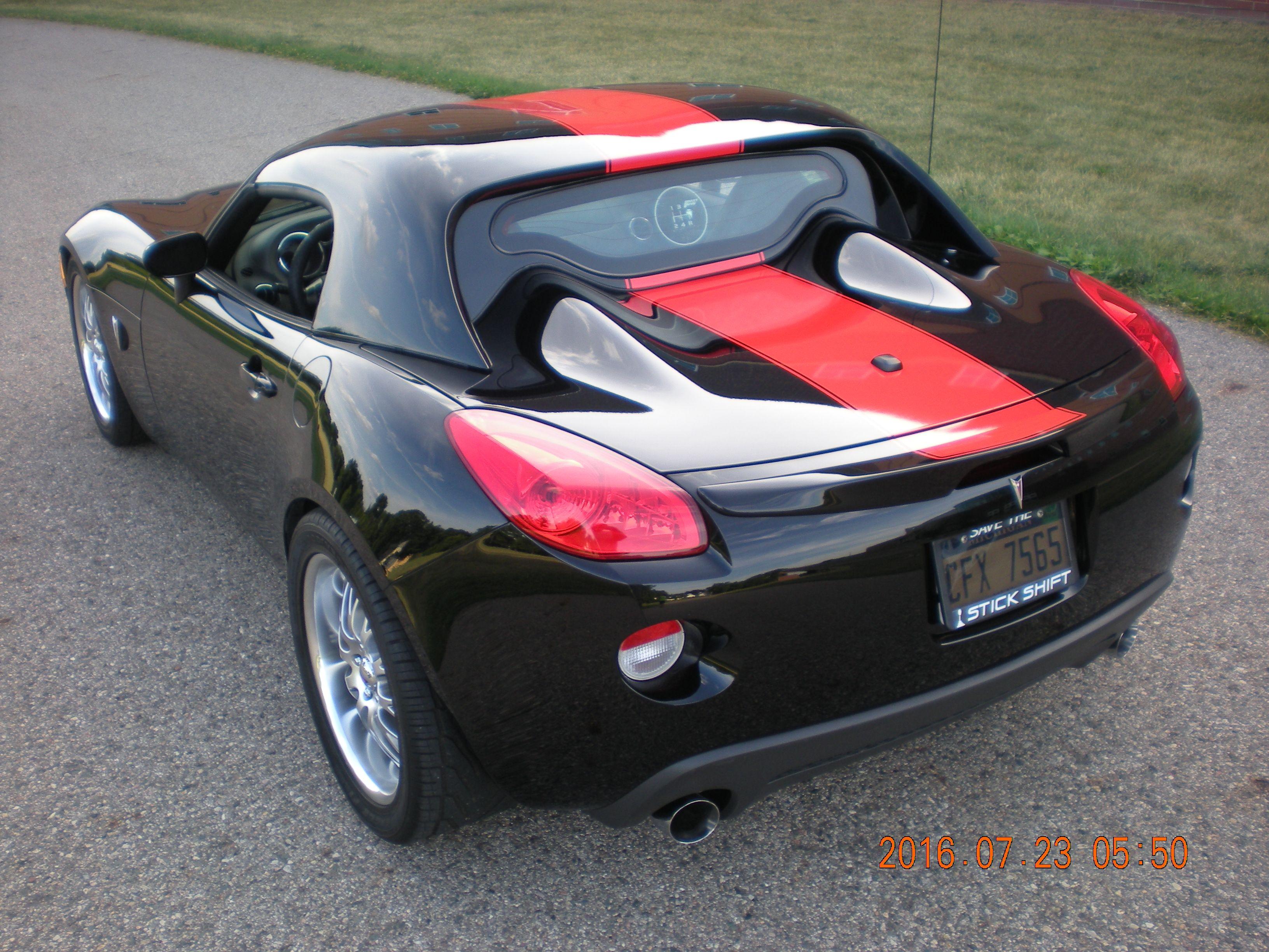 2006 Pontiac Solstice Street Edition headlamps Street Edition Red