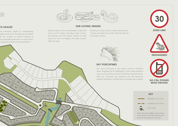 STONEHURST MOUNTAIN ESTATE | Visitors Brochure by Amy Soule, via Behance
