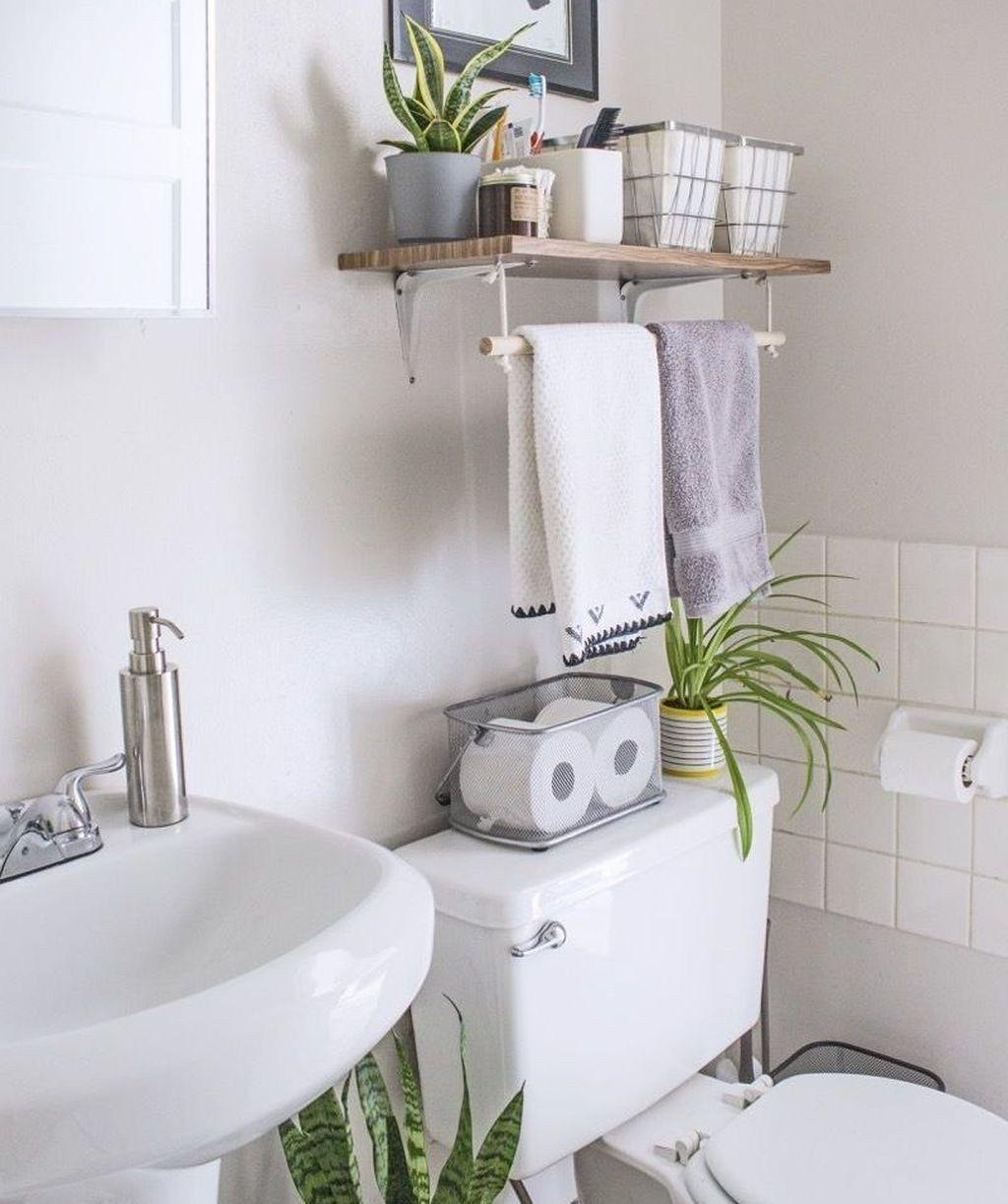 49 Schone Speicherplatze Ideen Fur Kleines Badezimmer Kleine Badezimmer Wohnung Badezimmer Dekoration Kleine Badezimmer Inspiration