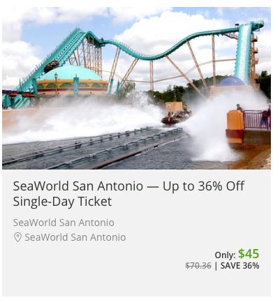 Verified SeaWorld San Antonio Promo Codes & Coupons