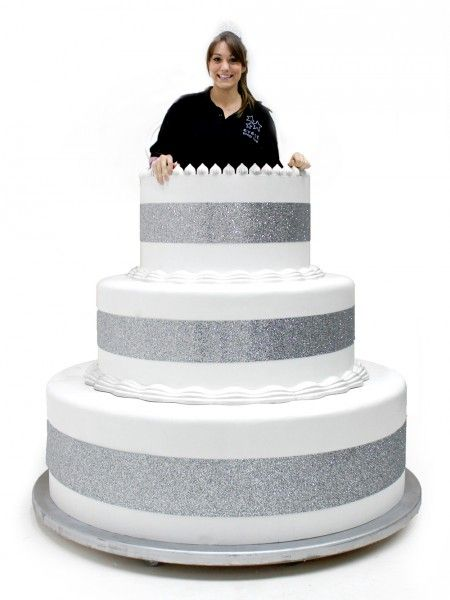 Astounding Giant Pop Out Cake With Images Giant Birthday Cake Event Funny Birthday Cards Online Alyptdamsfinfo