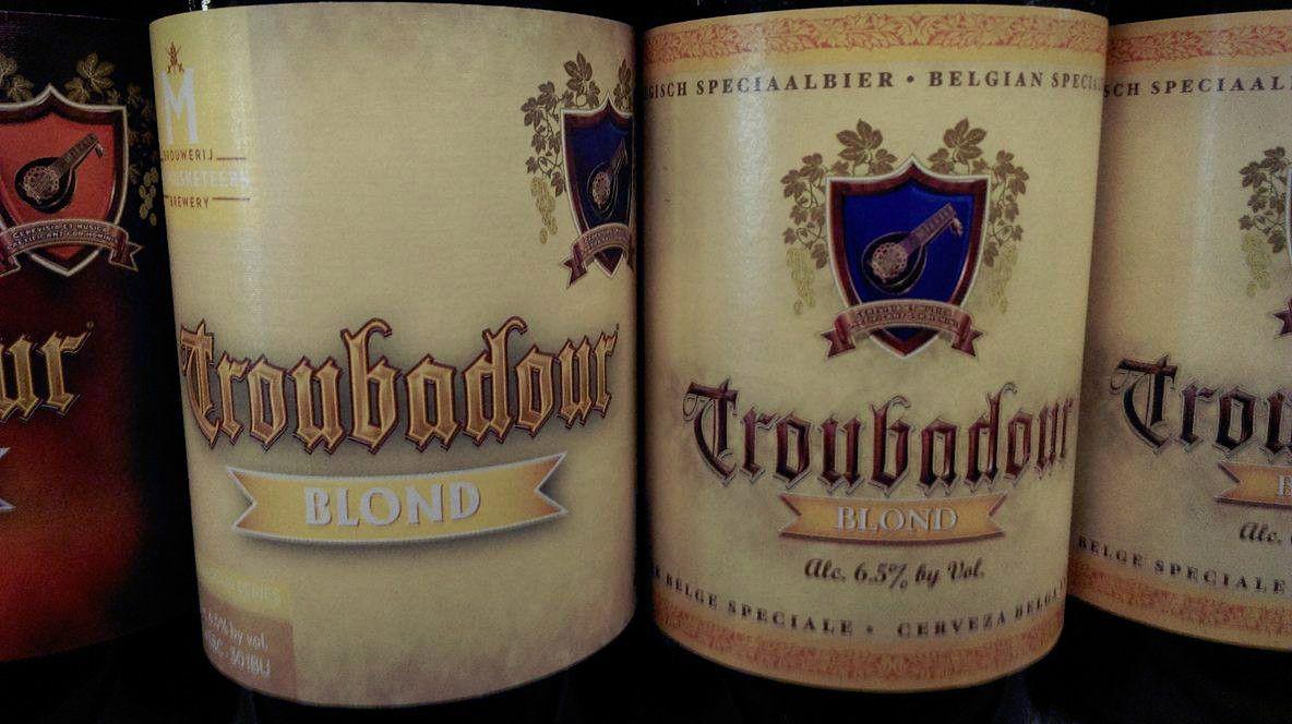 Troubadour beer #troubadour #beer #blond