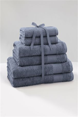 Buy 6 Piece Chambray Towel Bale from the Next UK online shop