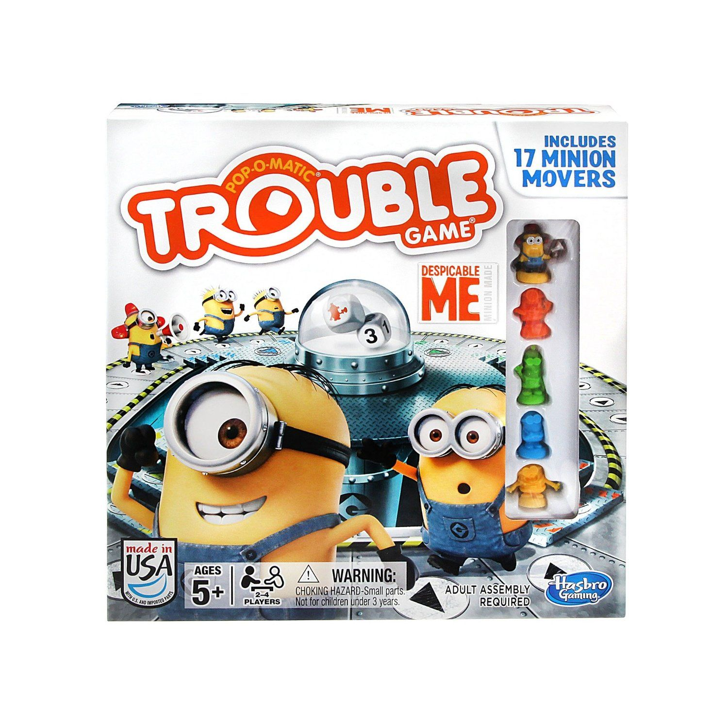 Trouble Game Despicable Me Edition Toys