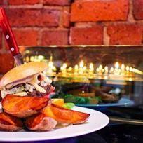Mylläreiden hirvihampurilainen. Elk meat burger. Albumi: MenuKevat2015