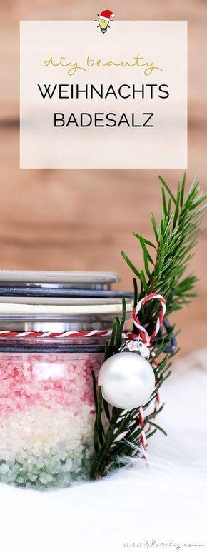 Photo of Geschenkidee: DIY Weihnachts-Badesalz   Filizity.com   Beauty-Blog aus dem Rheinland