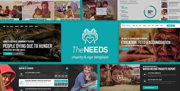 The Needs - Nonprofit, Charity, Crowdfunding HTML Site Template - ngo templates