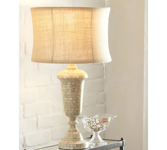 Jolie Mother Of Pearl Table Lamp Base