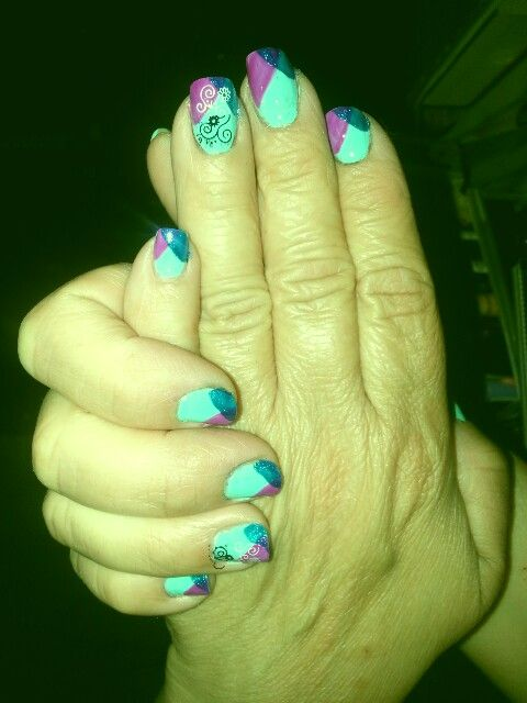 #nails#abstracto