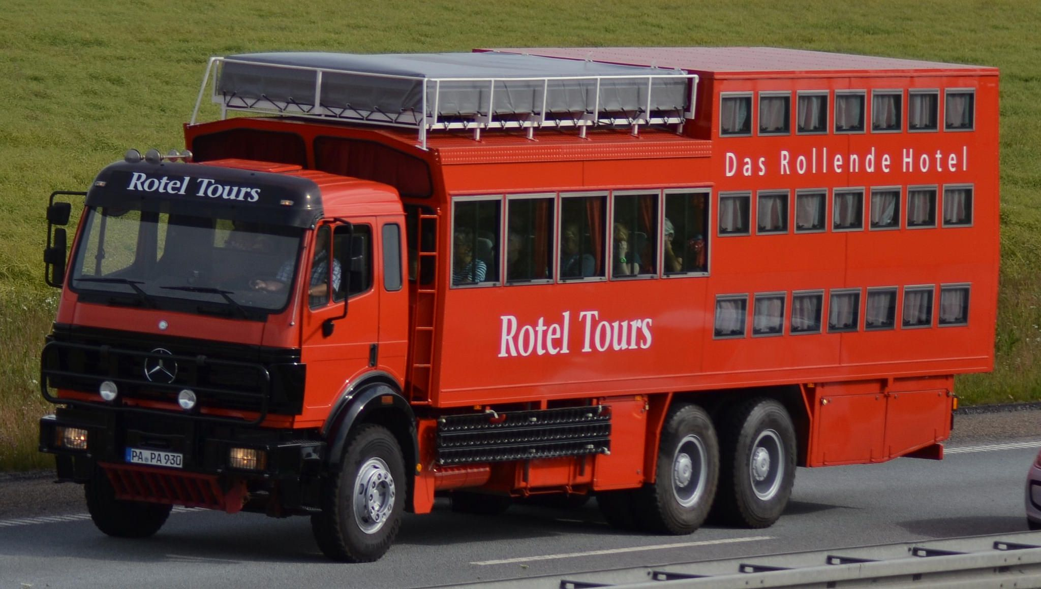 Mercedes Sk - Rotel Tours Das Rollende Hotel - D PA PA 930