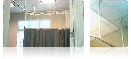 Hospital Cubicle Curtain Tracks Hospital Curtains