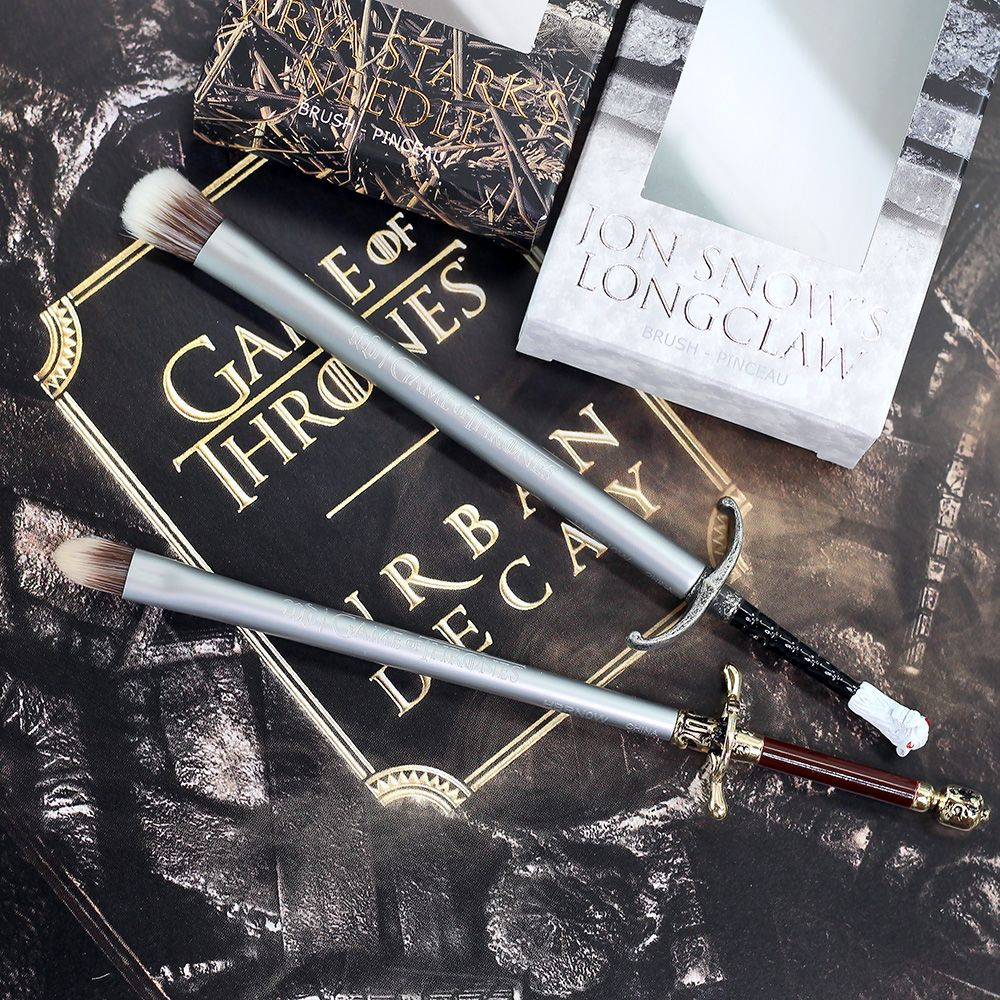 Urban Decay x Game of Thrones Makeup Brushes Urban decay