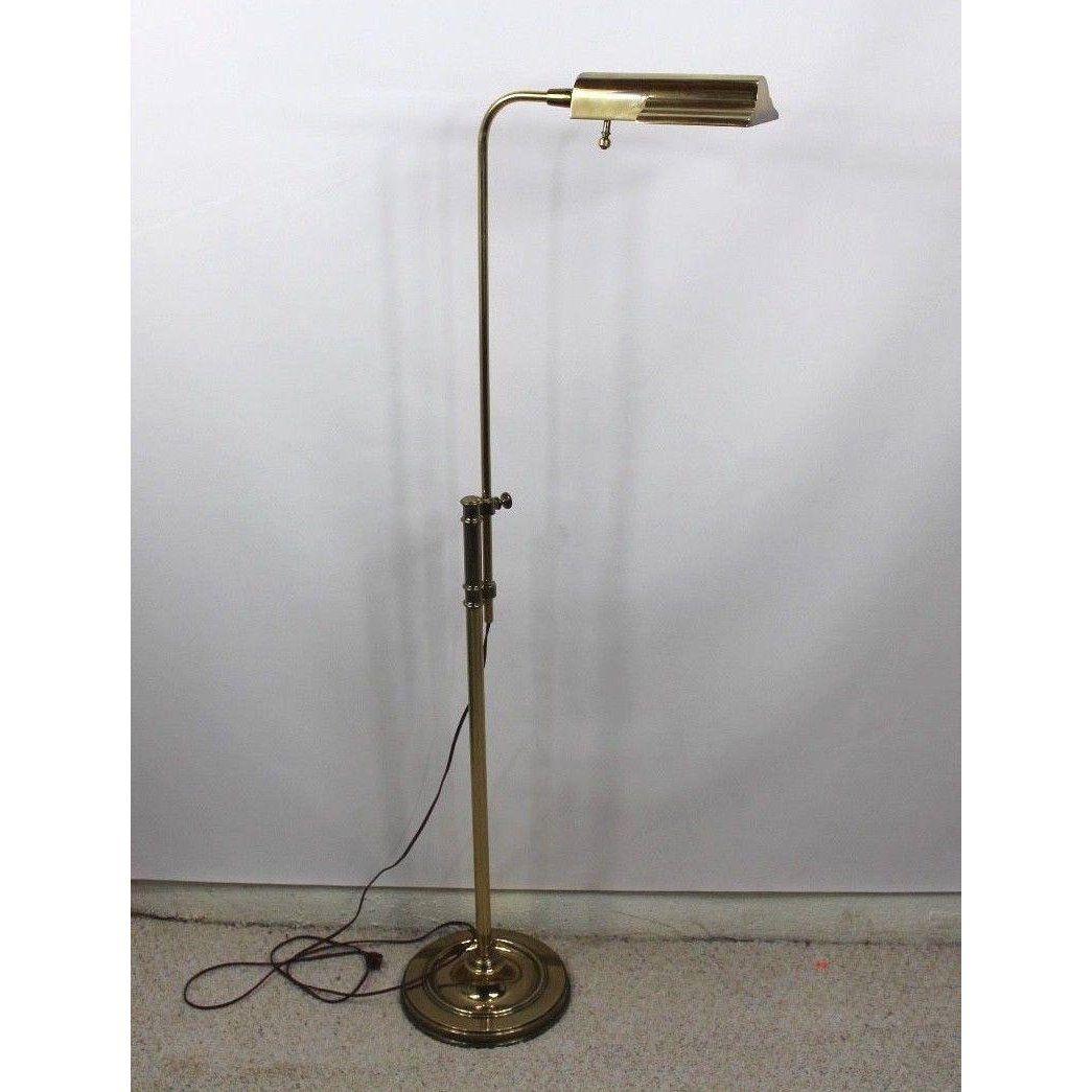 Vintage Stiffel Mid Century Modern Adjustable Brass
