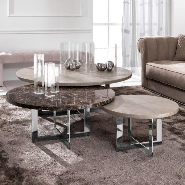 Marmor Couchtisch Der zeitlose Hingucker im Wohnzimmer Pinterest - marmor wohnzimmer tische