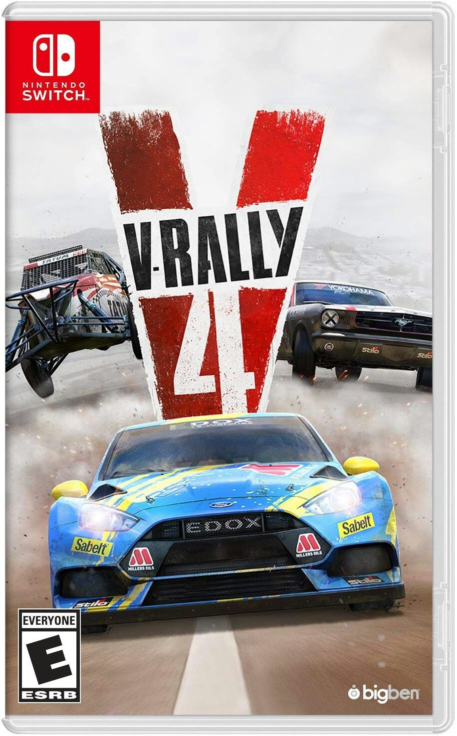 V Rally 4 Nintendo Switch Xbox One And Ps4 Nintendo Switch