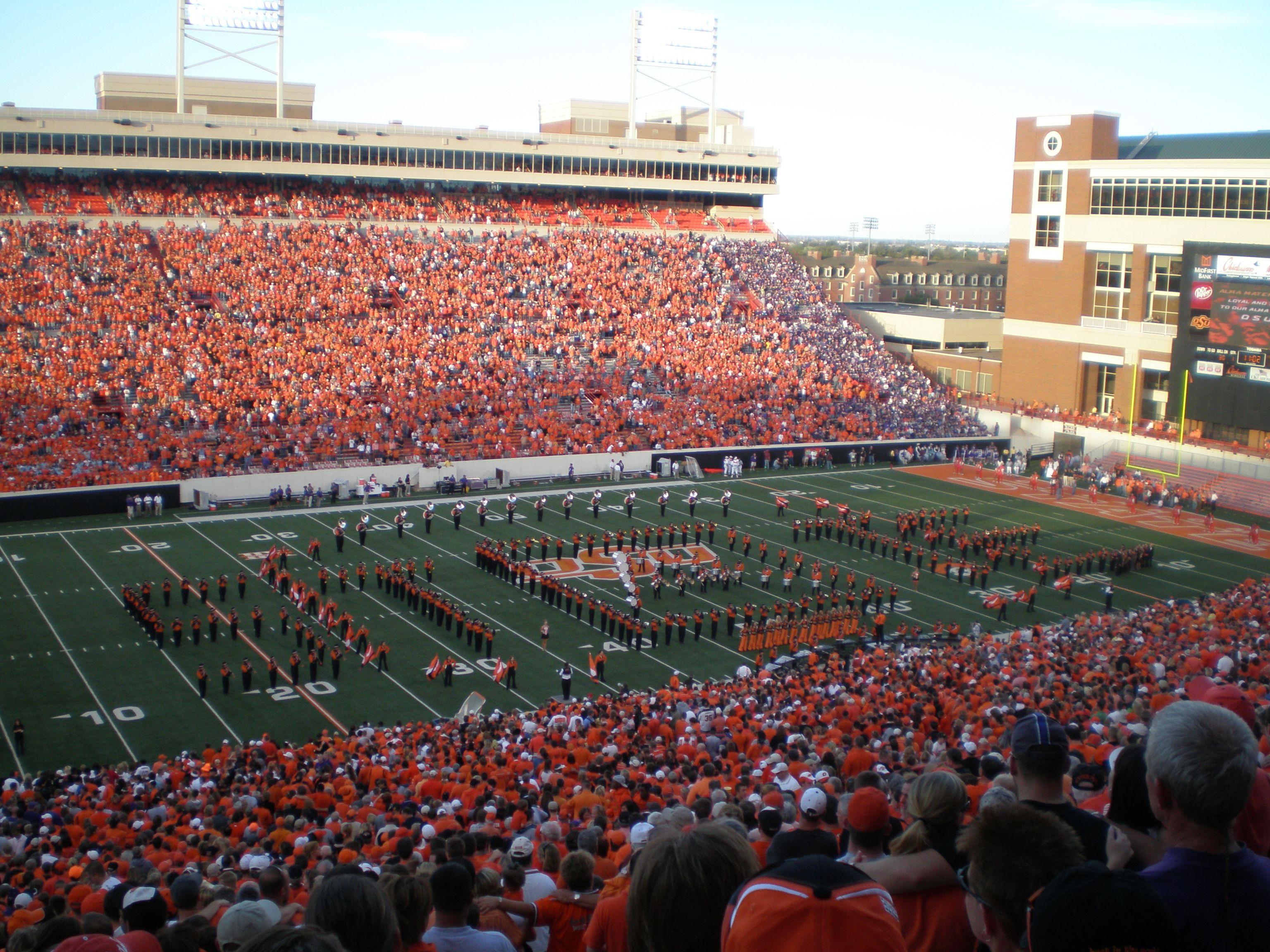 Boone Pickens Stadium GO POKES!!!!!!!! See