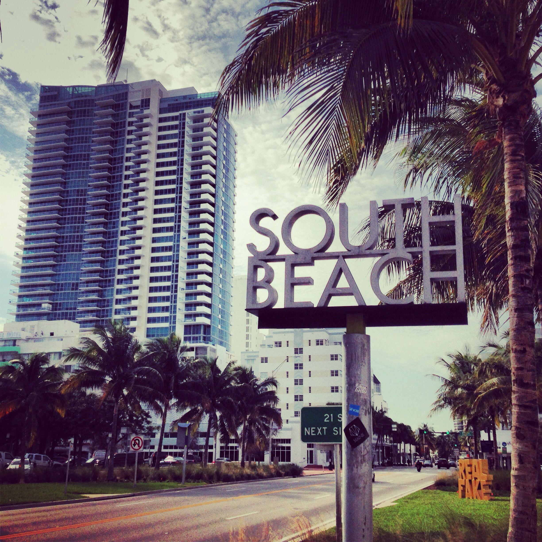 #SouthBeach, uno de los rincones clásicos que hay que recorrer en #Miami.