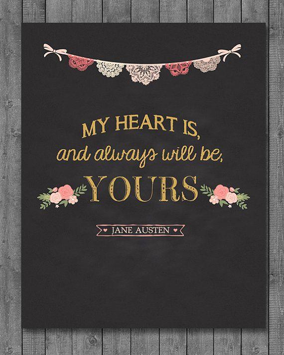 Pretty. And, one of the most romantic quotes ever
