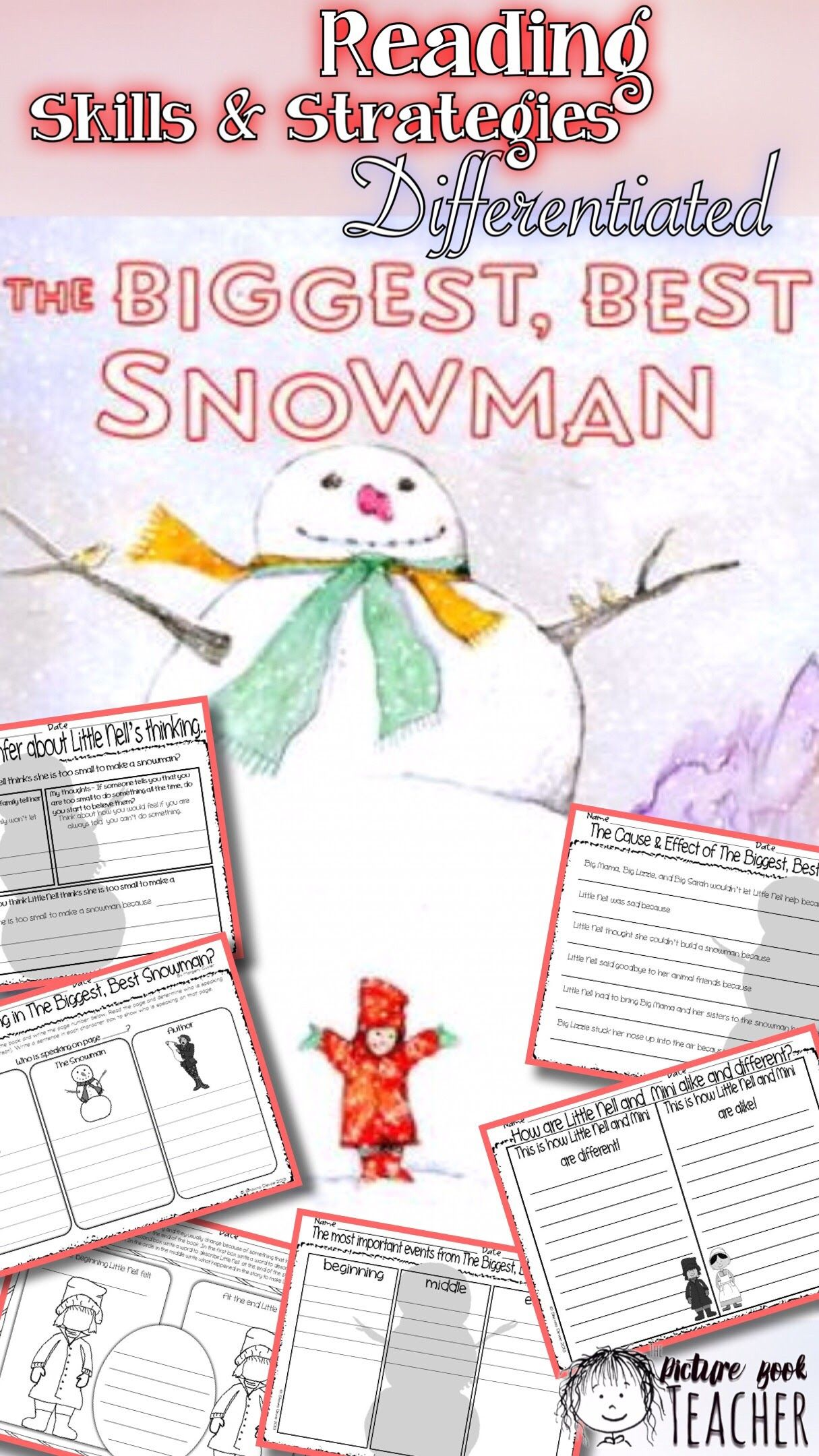 Skills Amp Strategies Inspired By The Biggest Best Snowman