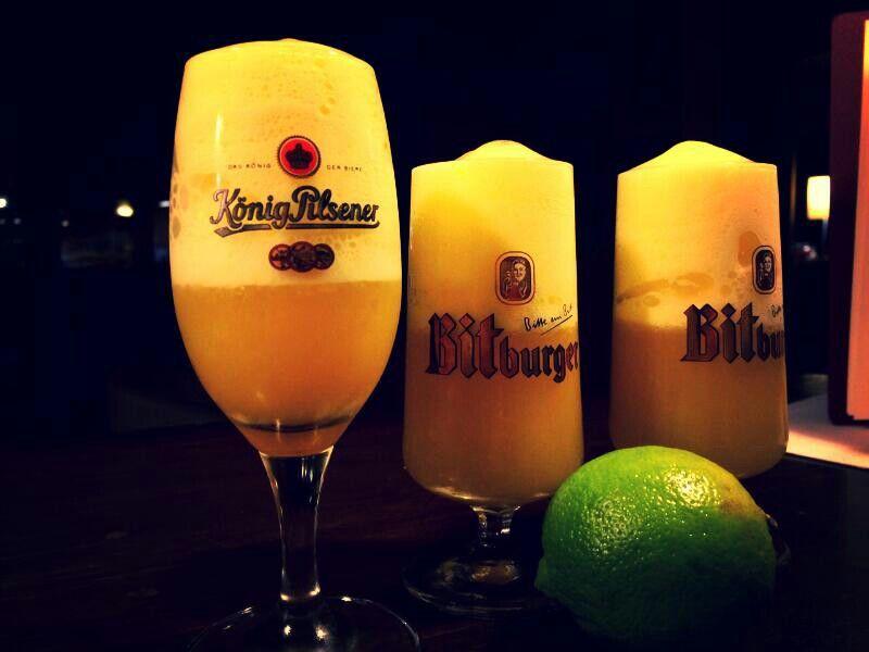 Orange • Apfel • Limette • Orangenespuma