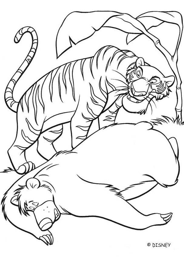 The Jungle Book Coloring Page   Ausmalbilder   Pinterest ...