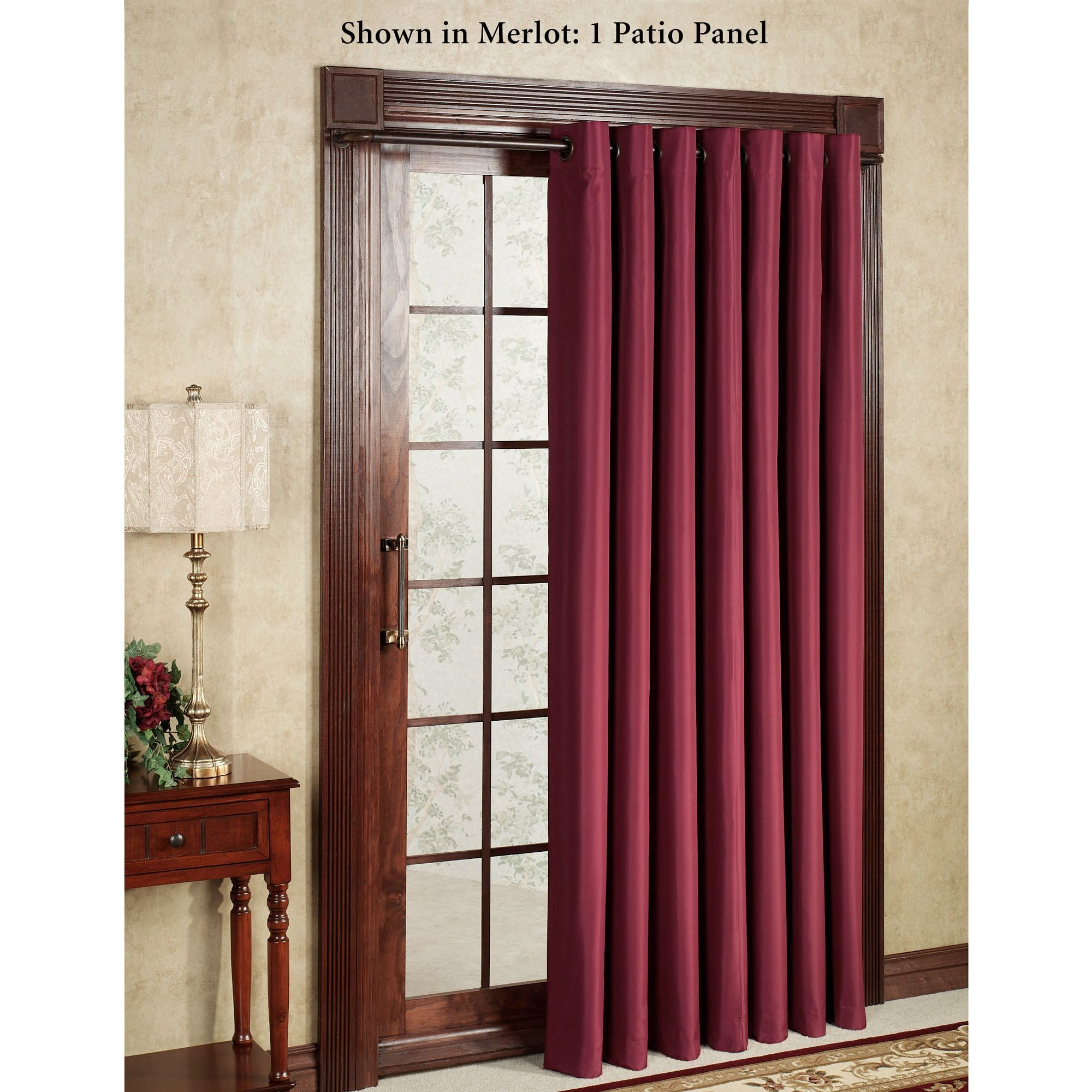 Thermal Lined Curtains For Sliding Glass Doors
