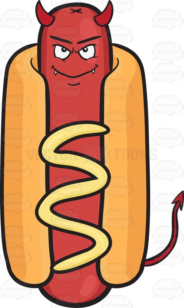 5b3e60b9e3b1 hot dog with horns - Google Search