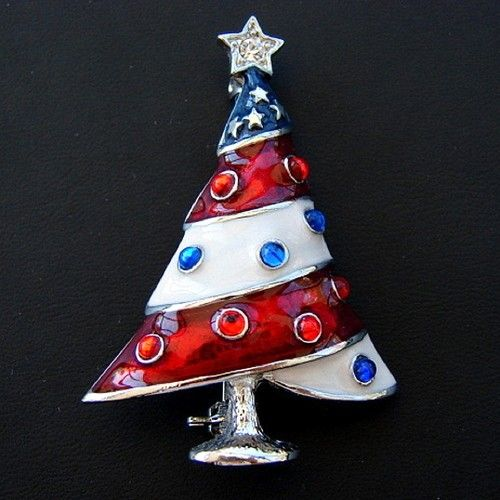 Collecting Vintage Christmas Pins Christmas Trees Pinterest
