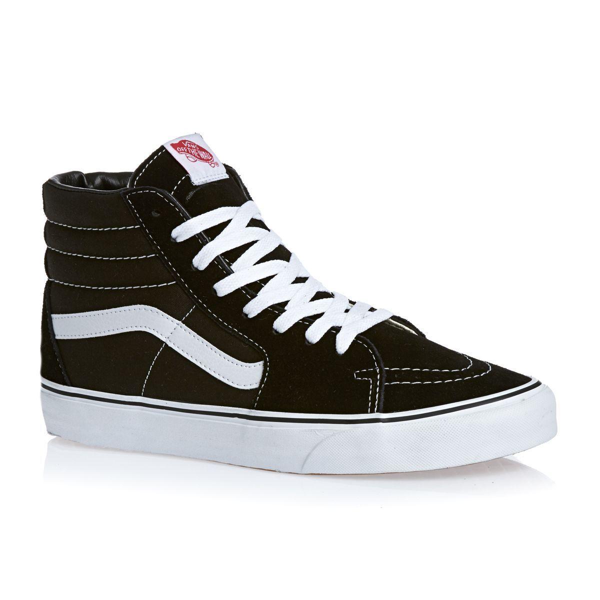 Vans Sk8-hi Shoes - Black in 2020