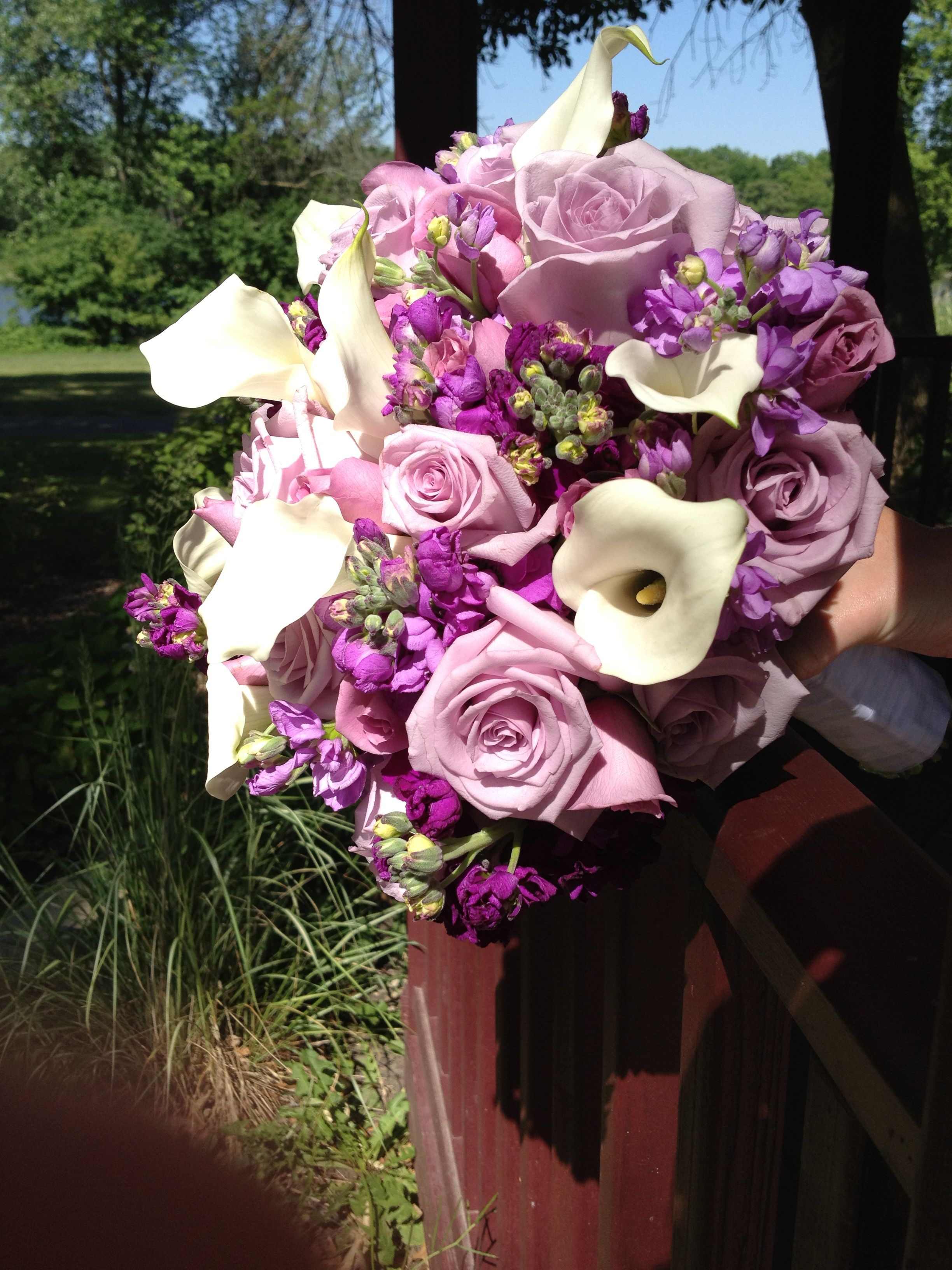 lavender and purple bouquet # Wild Orchid custom Floral Design. www ...
