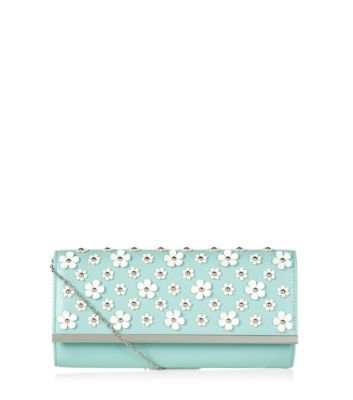 Mint Green Raised Flower Clutch New Look | Green clutch