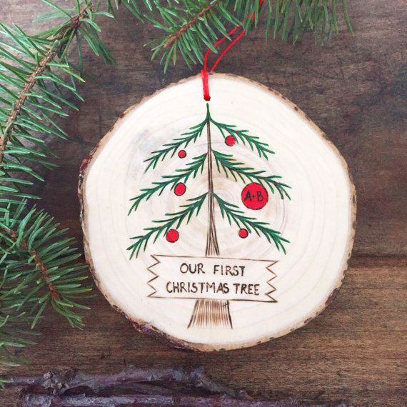 Our First Christmas Tree Ornament Made From Your Own Christmas Etsy How To Make Ornaments Christmas Tree Ornaments Christmas Ornaments
