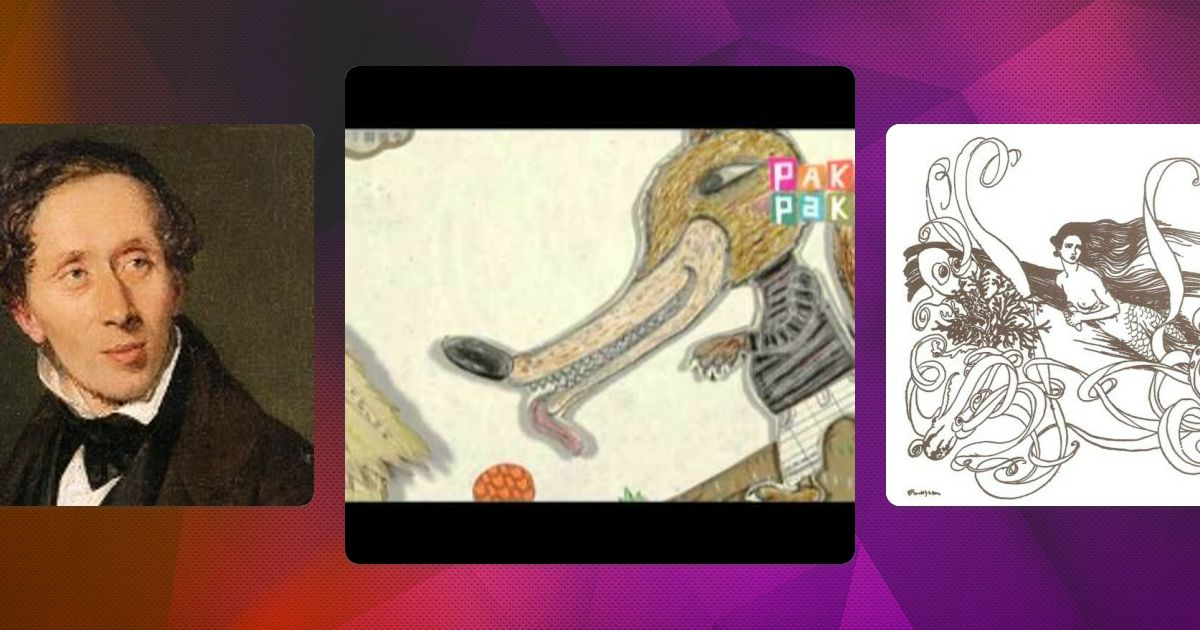 Biblioteca virtual con recursos digitales para trabajar cuentos de Perrault, los hermanos Grimm y H. C. Andersen