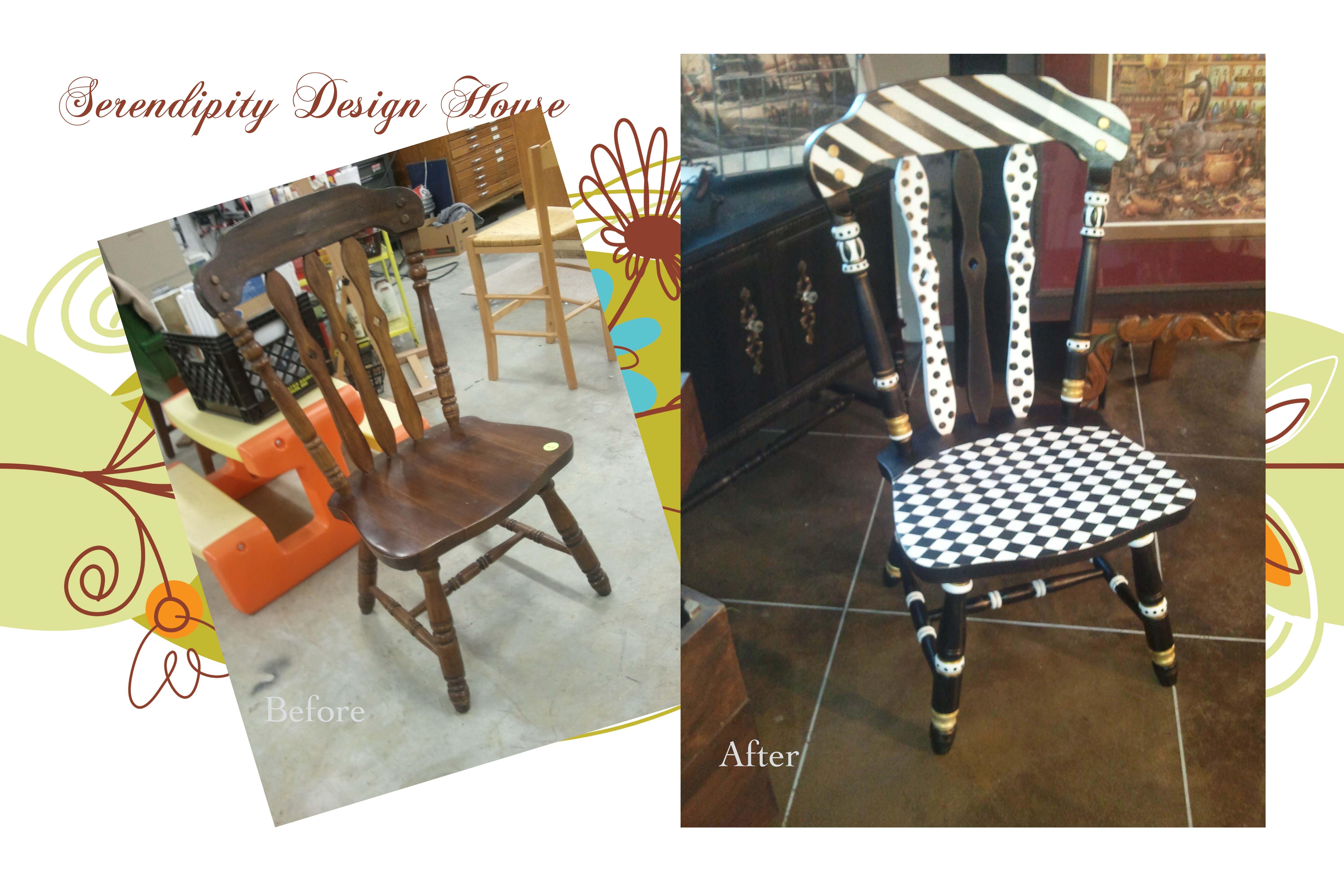 Sedie Dipinte A Mano : Mackenzie childs inspired chair! mackenzie child pinterest