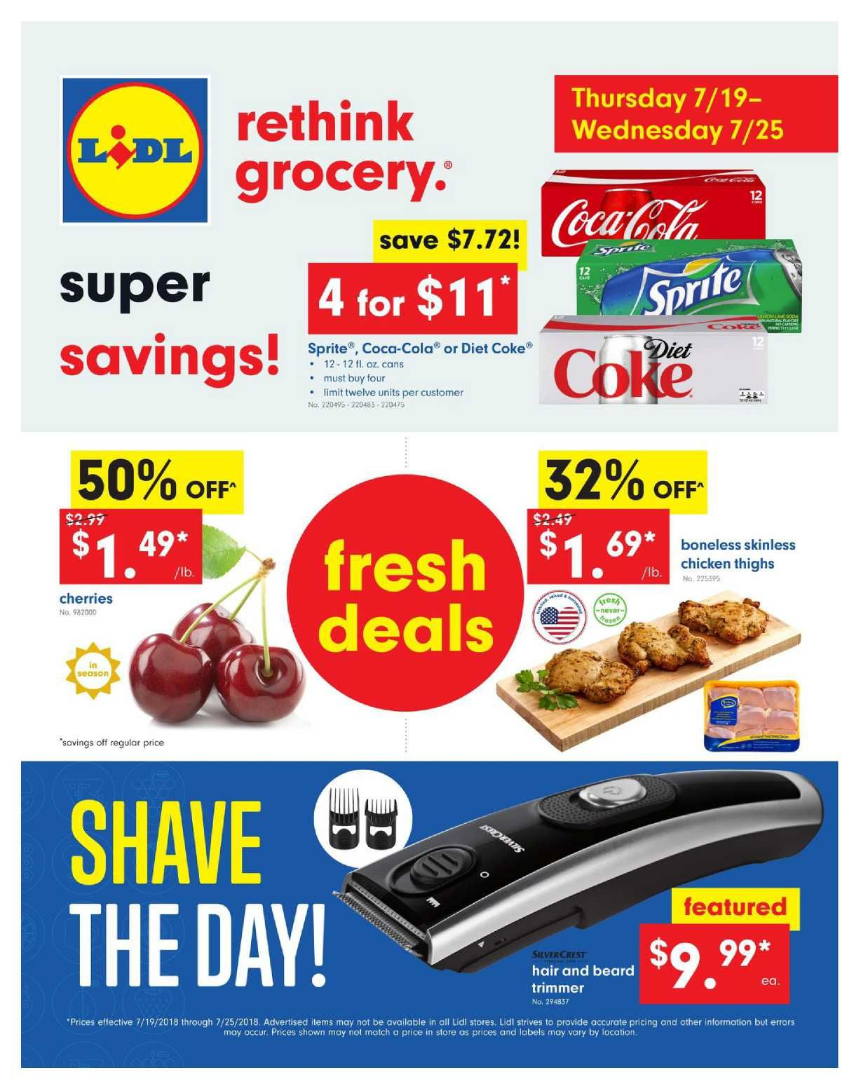 f81cafd48 Browse current Lidl Weekly ad 19 – 25 July 2018 or Weekly specials, Lidl  weekend