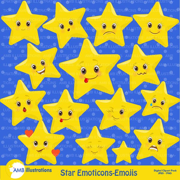 Star Emojis Emoticons Clipart Cliparts Star Emojis Emoticons Clipart Star Clipart Clip Art Emoji Clipart