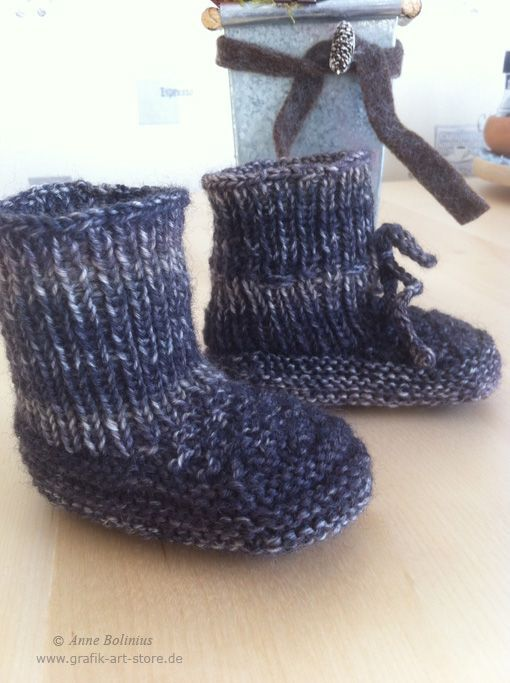 Photo of I haven't knitted baby booties for a long time, but now there are possibilities …