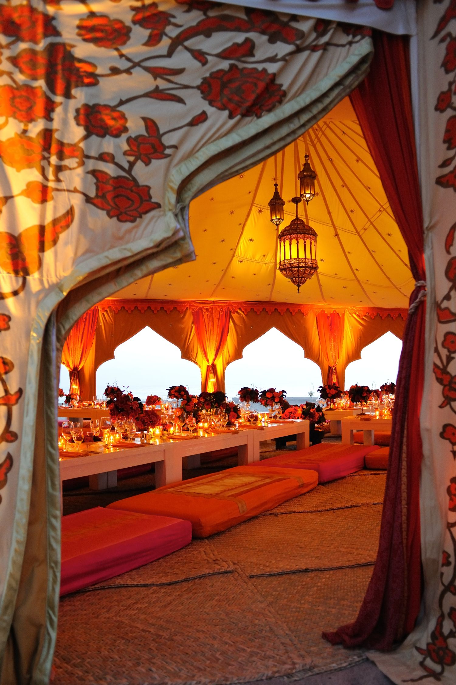 Gorgeous Moroccan Tent at La Loma Beach Cuixmala Mexico Designed by Marianne Weiman Nelson & Gorgeous Moroccan Tent at La Loma Beach Cuixmala Mexico Designed ...